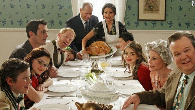 Modern Family as Tableau Vivant