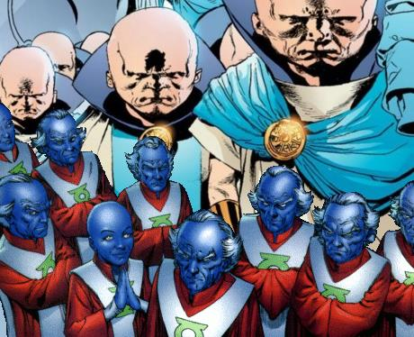 DC Marvel Crossover - The Watchers & The Guardians